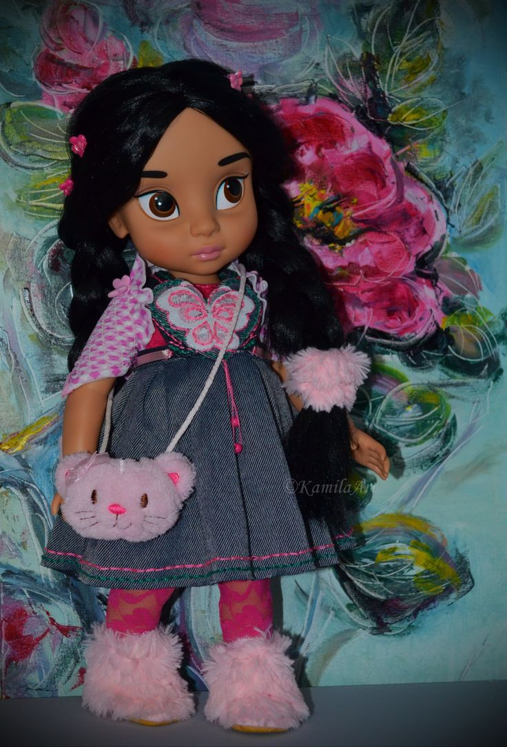 Jasmine disney animators doll