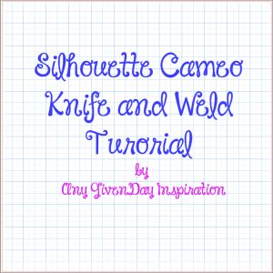Silhouette Cameo Tutorial | How to Customize Shape Using Knife and Weld Tools