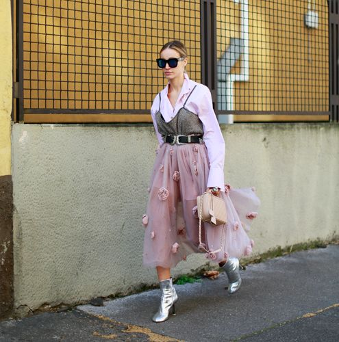 Anouki Areshidze – Pretty in Pink and Silver