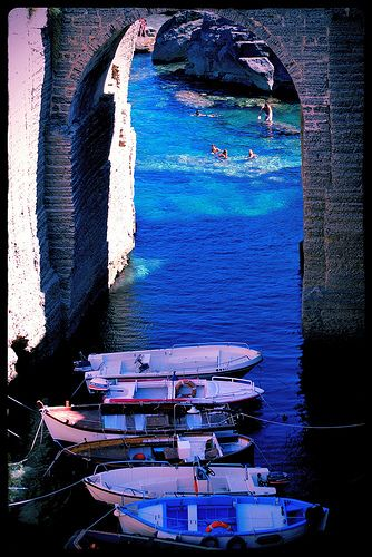 Bellissimo scorcio di Santa Cesarea Terme, Salento, province of Lecce , Puglia region Italy #salento,#mare,#journey,#holidays,#sea