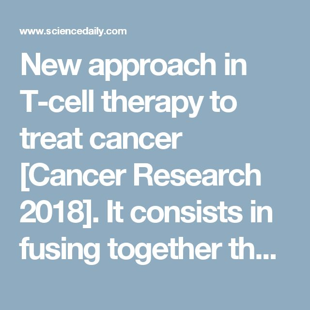 New approach in T-cell therapy to treat cancer [Cancer Research 2018]. It consists in fusing together the inhibitory surface receptor PD-1 with activating cytoplasmic domain of CD28 (PD-1:28). This results in much higher proliferation and cytotoxic activity of T cells in tumor mileu. This treatment affects only avidity but not affinity of T cells, thus, making them less likely to cause autoimmunity and toxicity. This modification is compatible with adoptive T cell transfer.