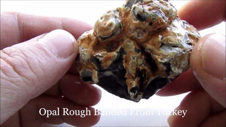 Opal Rough Banded 115 Gr