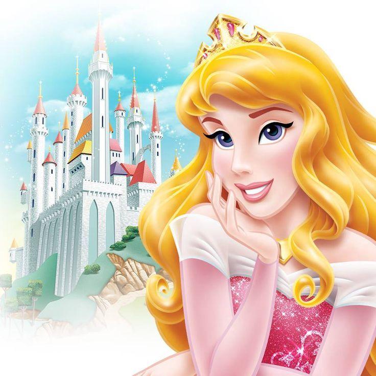 A princesa aurora a primeira princesa que ter olhos violeta princesas pinterest disney - Wandsticker disney ...