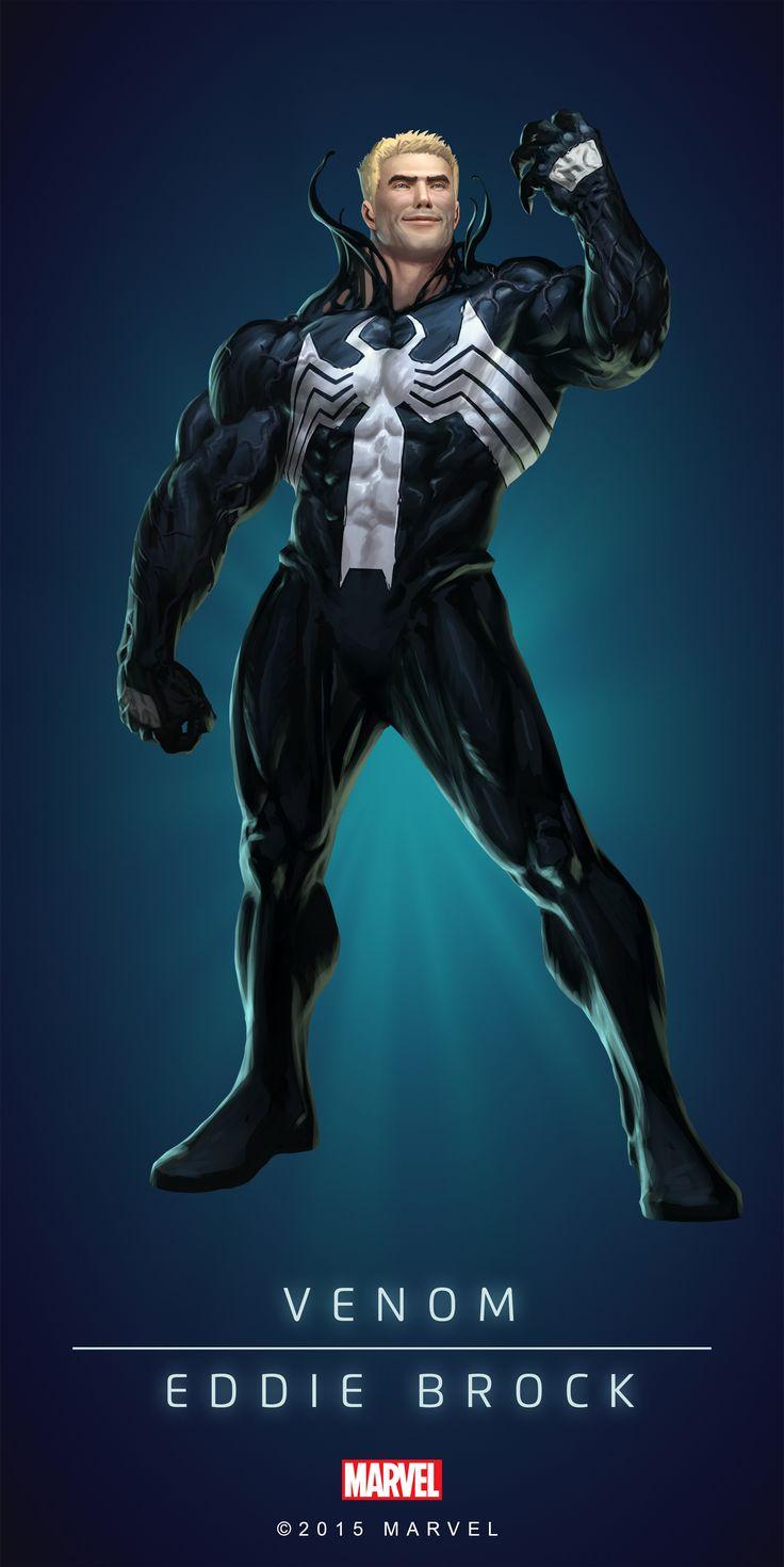 Venom Eddie Brock Poster-02