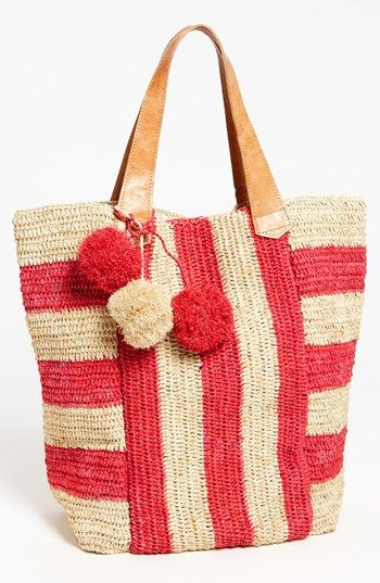 Mar y Sol 'Havana' Stripe Tote, Extra Large available at #Nordstrom - I am in love!