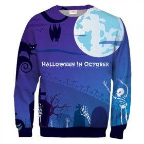 HALLOWEEN IN OCTOBER Sweatshirt
