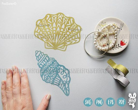 Mandala Shell SVG Bundle! Tribal Shell svg, Seashells svg, Beach svg, Ocean Cut File, Sea svg | Silhouette | Cricut | cut files | Home Decor For personal and commercial use. The designs can be cut from different materials: paper, regular and heat transfer vinyl, stencil material etc. Just download the files you like and cut them using your cutting machine. You can use the designs for DIY projects, heat transfer designs on t-shirts and bags, create your own gift packaging, decorate notebook…