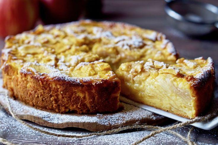 TORTA DI MELE INVISIBILI Se desiderate creare una squisita Torta di Mele con pochissimi ingredienti e zero macchinari, la Torta di Mele Invisibili fa propr