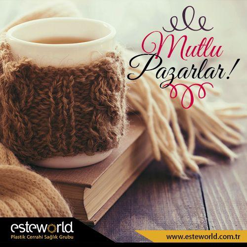 Evinin en sevdiği köşesinde kahve kitap keyfi yapanlar kim? Güzelliklerle dolu bir Pazar günü geçirmeniz dileğiyle… #esteworld #coffee #book #sunday