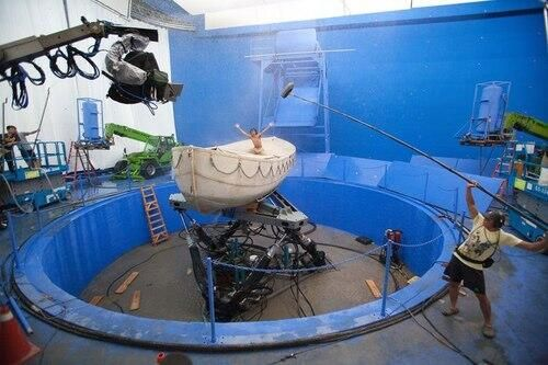 Behind the scenes. Life of Pi (2012)