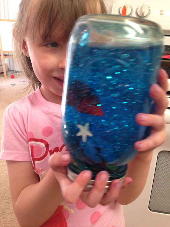 Under The Sea Discovery Jar - great sensory learning tool on Etsy, $11.00