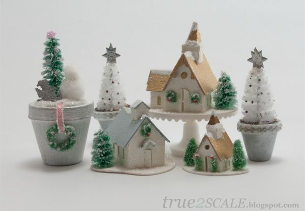 true2scale: Glitter Houses | Dollhouse Miniatures | Printables, Tutorials, Inspiration
