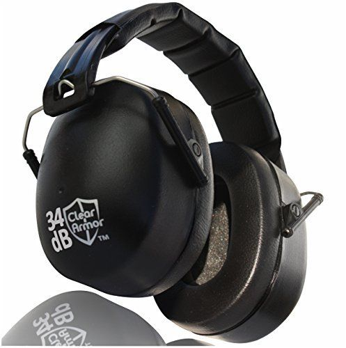 Earmuffs - Safety Ear Muffs, Shooting Ear Protection, NRR 34dB Beats Howard Leight & Peltor Muffs