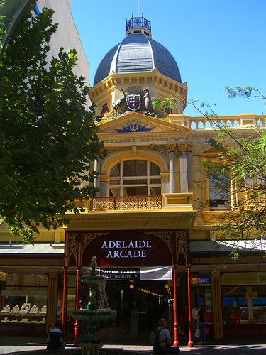 Adelaide Arcade, Rundle Mall, Adelaide, Australia.