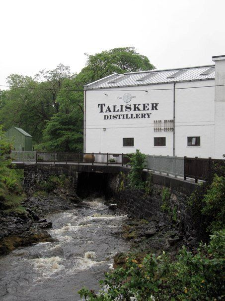 Talisker Distillery - Talisker Distillery is the only distillery on the Isle of Skye, set on the shores of Loch Harport in the village of Carbost, on the beautiful Minginish Peninsula, with dramatic views of the Black Cuillin.