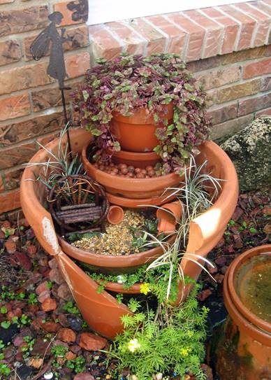 how to make miniature terracotta pots
