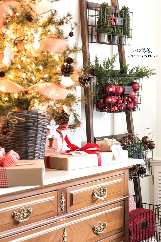 As we pack away our Christmas decor, we're already planning for next year. We're gathering some great decorating ideas for next season from Ann of On Sutton Place!