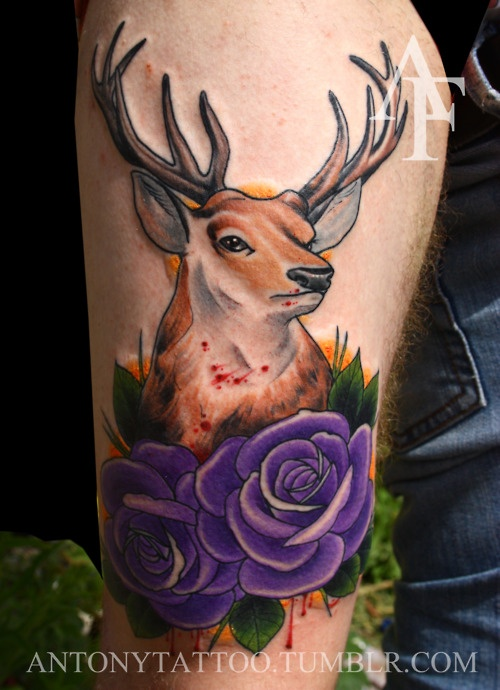 1000+ ideas about Deer Hunting Tattoos on Pinterest ...