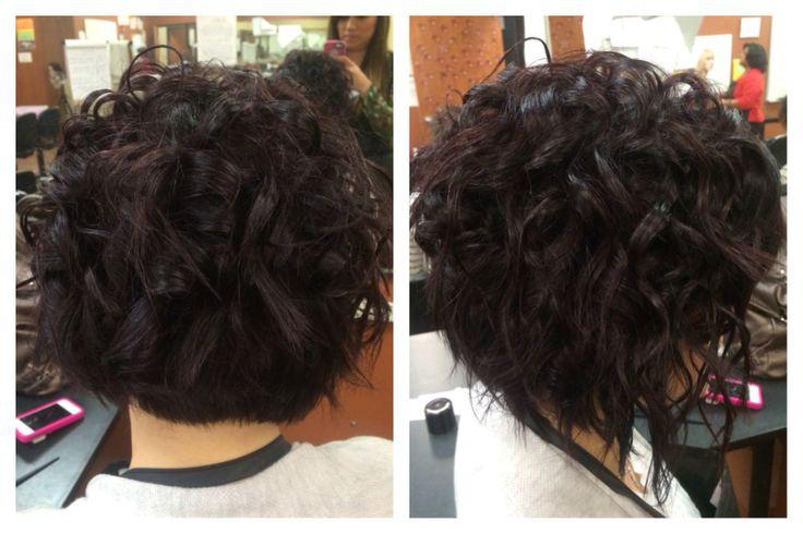 Hair Wand Styles: Curls In Short Hair, Wand Curls