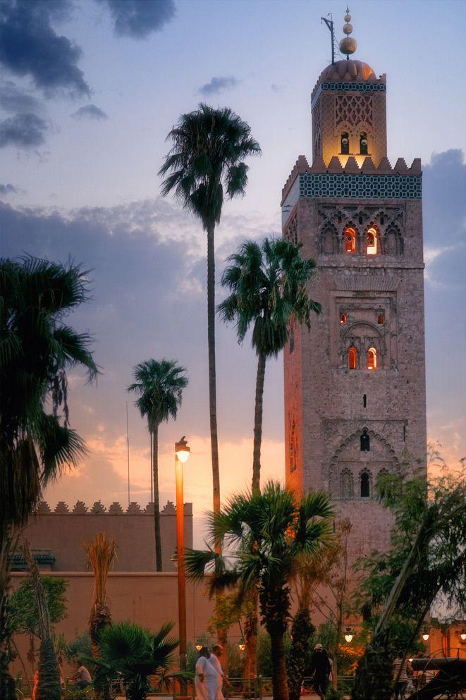 Mezquita Koutoubia, Marrakech, Marruecos