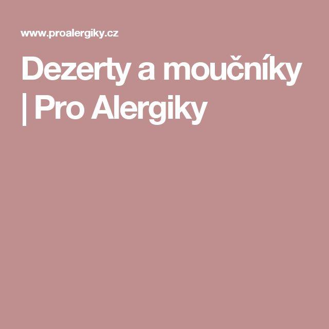 Dezerty a moučníky | Pro Alergiky