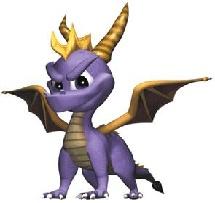 Spyro the Dragon, Child hood favorite game. gatta love that sexy dragon
