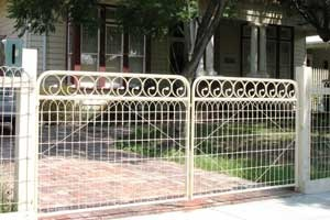 Resurrection Special Offers: Woven Wire Gates,Cast Metal Post Capitals,Fence Kits