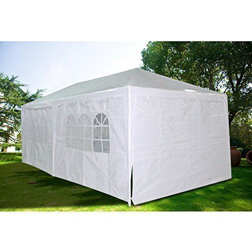 Wedding Party Tent Gazebo Canopy with Side Walls & Windows Durable Waterproof  #WeddingPartyTentGazeboCanopy