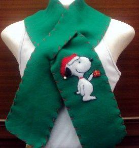 Bufanda navideña para adultos