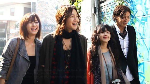 Dae Kim Hyo Jin as Seo Joon,  Jang Geun Suk as Kang Moo Kyul, Moon Geun Young as Wi Mae Ri, Kim Jae Wook as Byun Jung In <3 Mary Stayed Out All Night