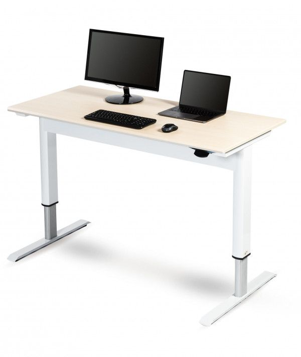 Pneumatic Adjustable Height Standing Desk Adjustable Office