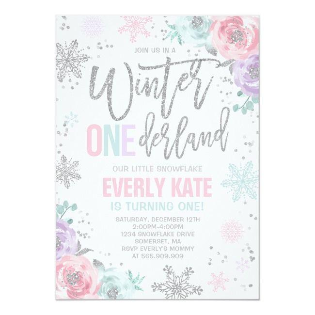 Create your own invitation in 2021 winter