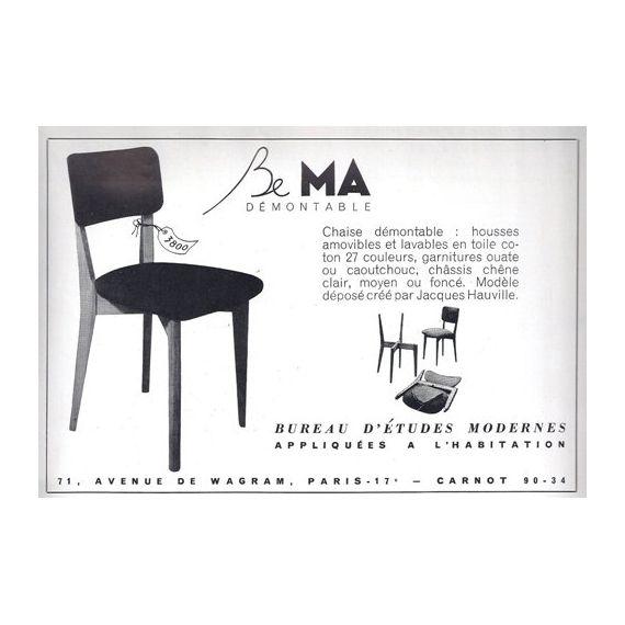 Chaise modele 500 design vintage - cote argus - Price for Design