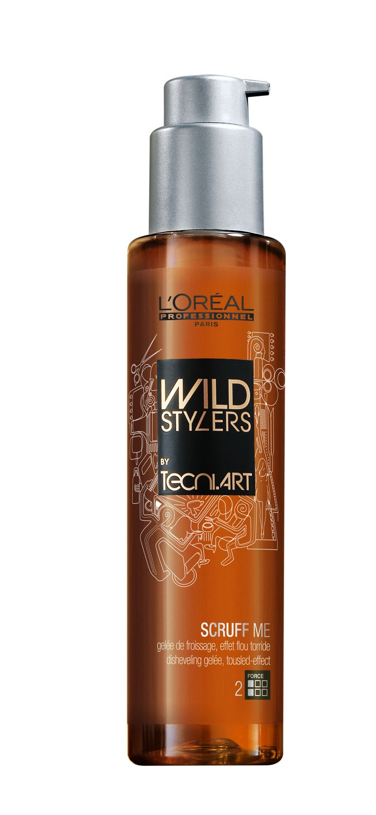 Tecni.ART - WILD STYLERS SCRUFF ME - The starting foundation to achieving a Messy Bob