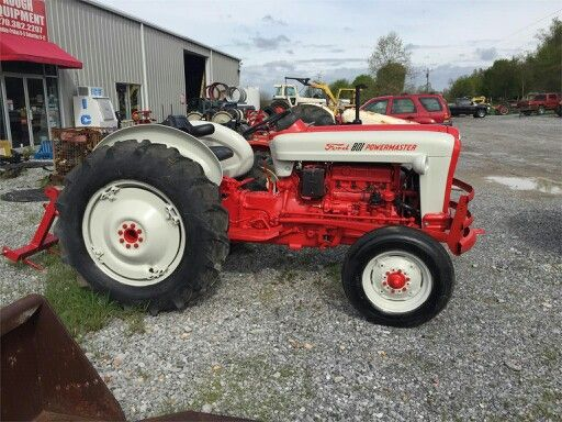 1959 Ford 851 PowerMaster Tractors Ford tractors Ford Tractors