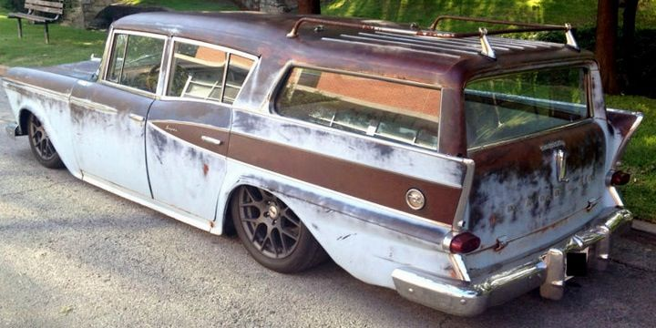 59 Rambler Built By Gasmonkey Garage Long Top