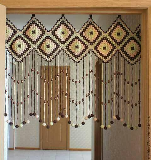Granny Square Curtains