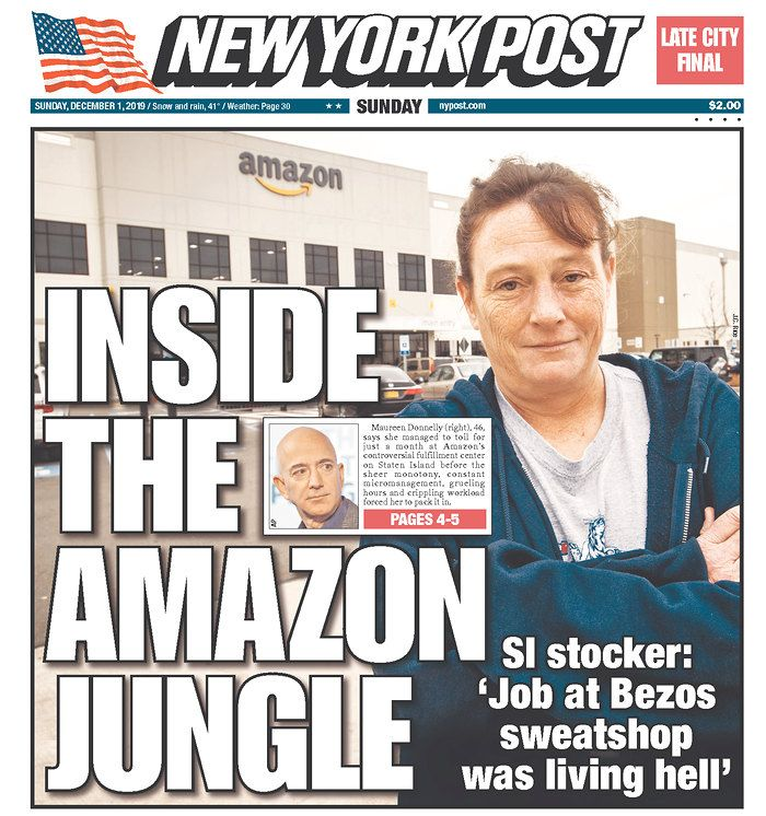 Maureen Donnelly Tells The New York Post That Her Job At Amazon