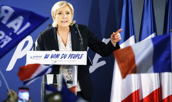 FRENCH ELECTION: Money floods in for Marine Le Pen shock win say betting markets
