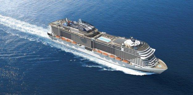 MSC Meraviglia: piani nave e cabine