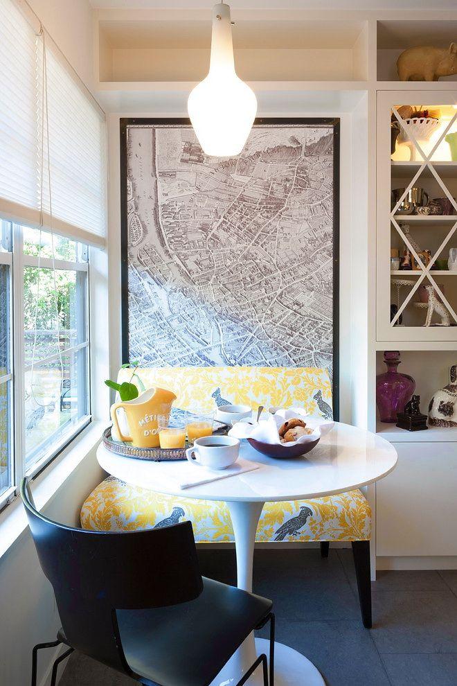 small breakfast nook modern kitchen by TAS