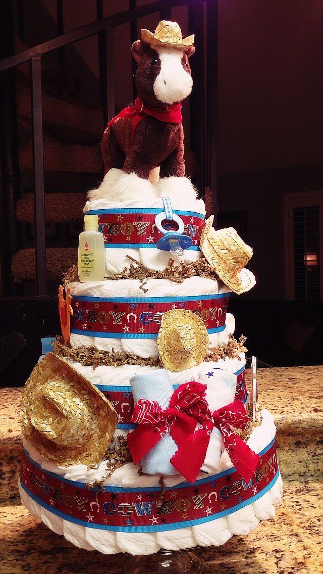Diaper cake I made :-)