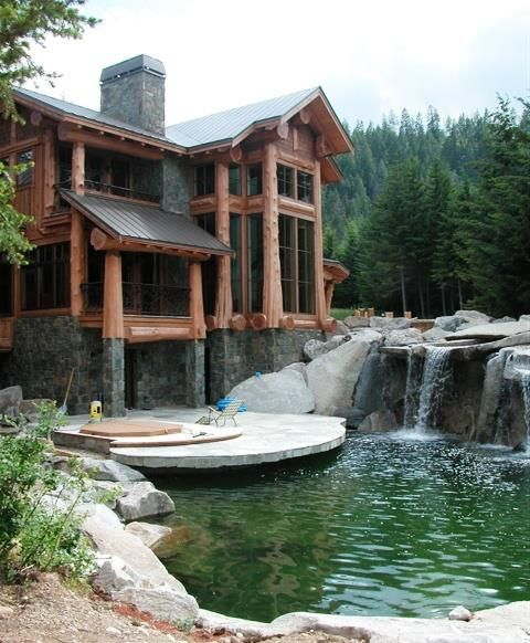 Waterfall in your back yard...tap the energy.