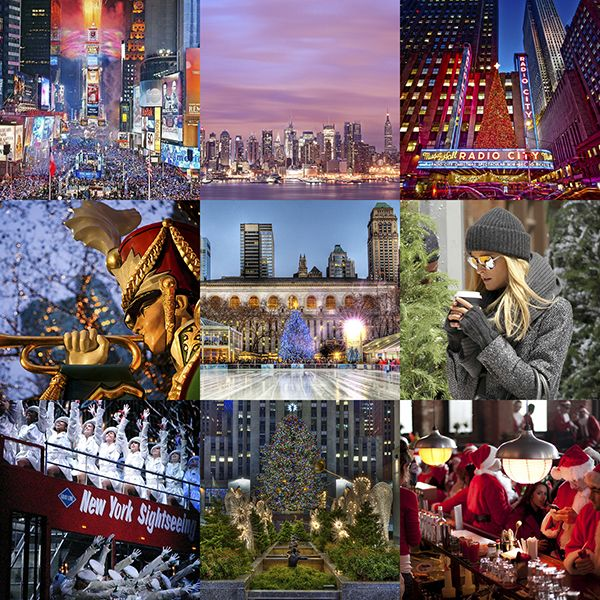 Зимние развлечения в Нью-Йорке #NewYork