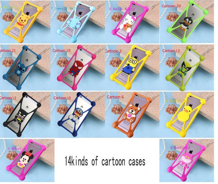 Minnie Minions Stitch Sulley Soft Silicon Rubber Case Back Cover For Micromax Canvas Pace 4G Q415 Q380 AQ5001 Bolt D320 A79 D303
