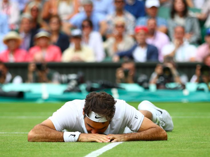 "Roger Federer woke up with a 'head-ringing' hangover after celebrating his historic Wimbledon win until 5 a.m. - Roger Federer got so drunk after winning his 8th Wimbledon Championship title that he was almost at ""break point"" when he addressed the press on Monday.  The 35-year-old beat Marin Čilić in straight sets on Sunday and was up until 5 a.m. making a racket in London's bars.  ""My head's ringing,"" Federer said when he resurfaced on Monday , telling media about his night after the…"