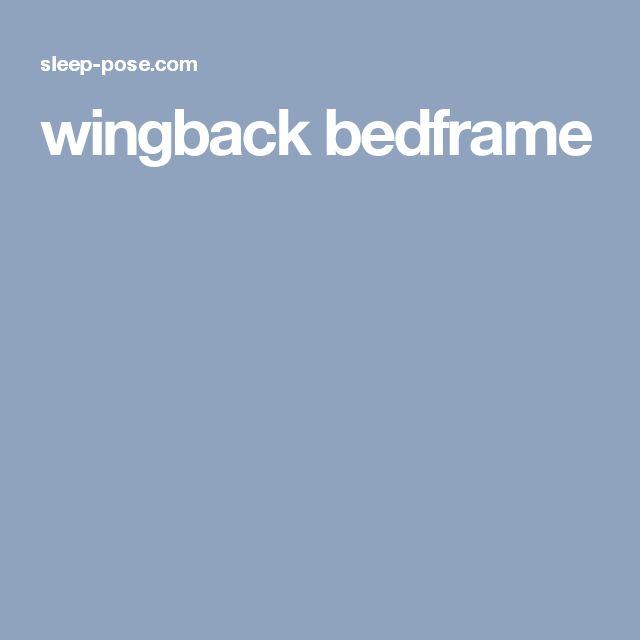 wingback bedframe