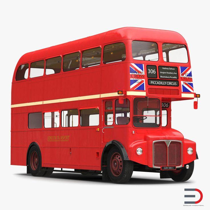 London Bus Routemaster Simple Interior