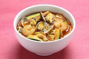 辛ラーメンを使った韓国風海鮮ちゃんぽんの作り方   韓国料理レシピ