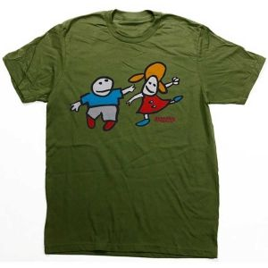 Foundation Skateboards  Foundation Whippersnappers T-Shirt  Olive Heather